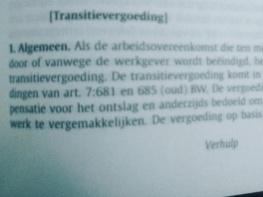Foto bij IVA-uitkering en bijna AOW-gerechtigd: toch recht op (volledige) transitievergoeding.
